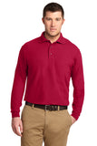 Adult Long Sleeve Polo