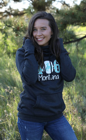 406 Montana Ladies Sweatshirt