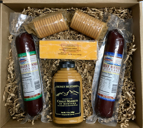 Large Meat & Cheese Gift Box
