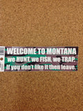 Assorted Montana Stickers