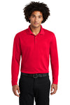 Adult Long Sleeve Polyester Polo