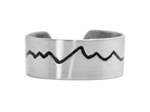 Simple Tetons adjustable ring