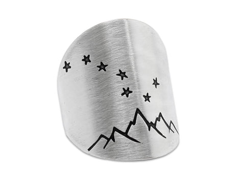 Big Dipper adjustable ring