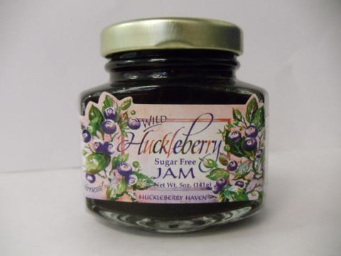 Sugar-Free Huckleberry Jam