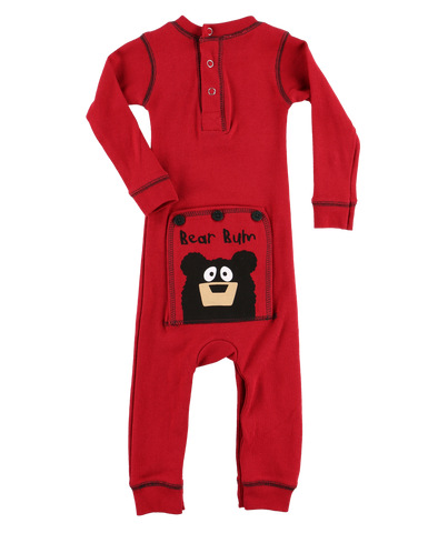 Bear Bum infant PJ suit