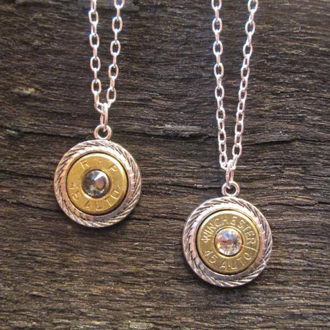 Badass Babe .45 Winchester Necklaces