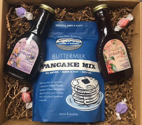 Wheat MT buttermilk pancake gift box