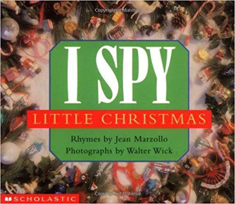 I Spy Christmas Board Book