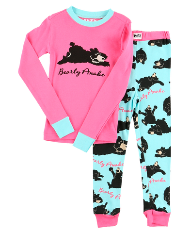Bearly awake PJ set