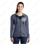 Ladies' Full Zip Sweater