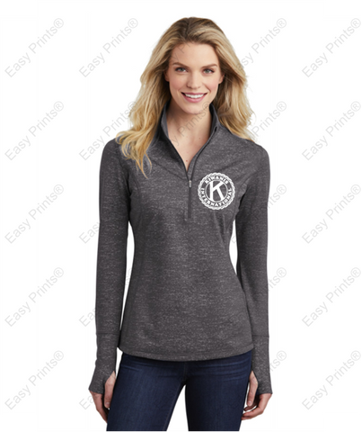 Ladies' Quarter Zip Sweater