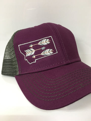 Purple Arrow MT Hat