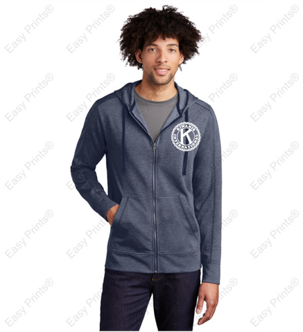 Men's Full Zip Kiwanis Sweater