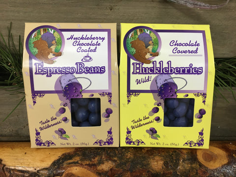 Huckleberry Chocolate Covered Treats