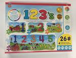 123 on the Farm 4 Pack Puzzle
