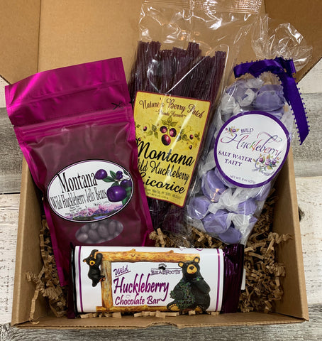 Huckleberry Candy Gift Box