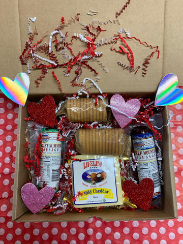 Meat & Cheese Valentine's Day Gift Box