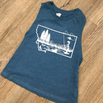 Fly Fish MT Crop Top Tank