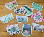Montana Sticker Decals