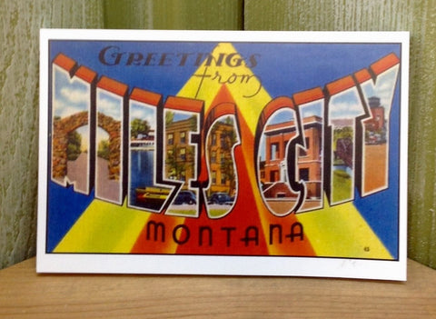 Miles City Postcard Book