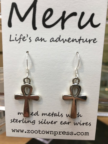 Montana Made Cross Earrings