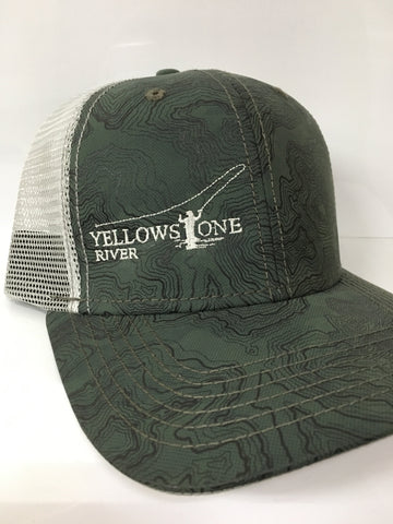 Yellowstone River Topography Cap