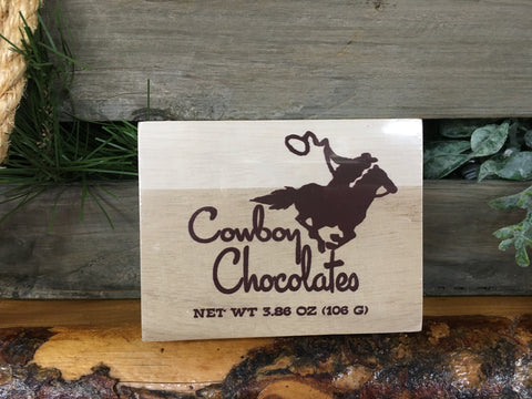 Cowboy Chocolate Cowboy Boxes