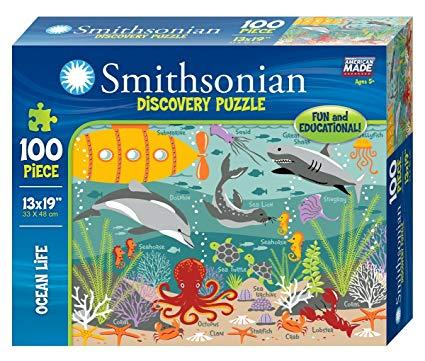 Smithsonian 100 Piece Puzzles