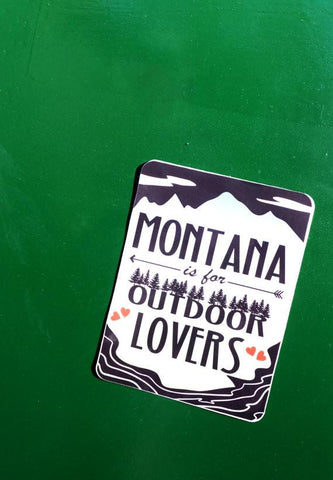 Outdoor Lovers Sticker