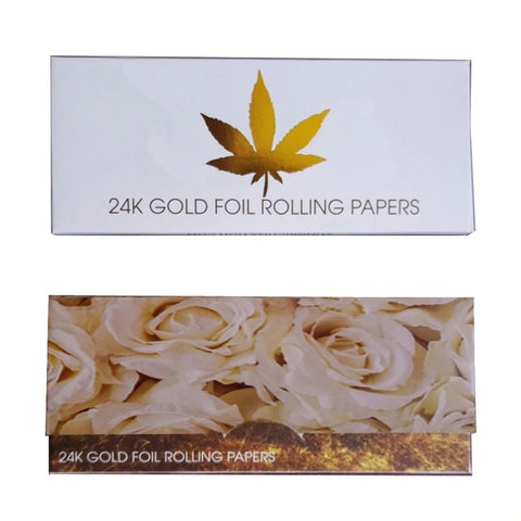 Feuille à rouler en or 24K