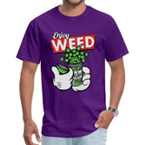 T-shirt Enjoy Weed Mickey Mouse