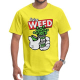 T-shirt Enjoy Weed Mickey Mouse orange
