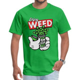T-shirt Enjoy Weed Mickey Mouse vert