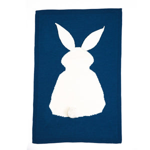 Rabbit fancy wiegdeken 105 x 75 cm