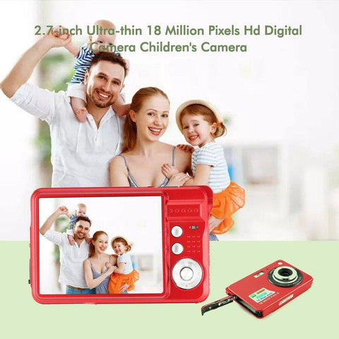 Image of 2.7 Inch Ultra-thin 18 MP HD Digital Video Camera Digital Camera GordVE