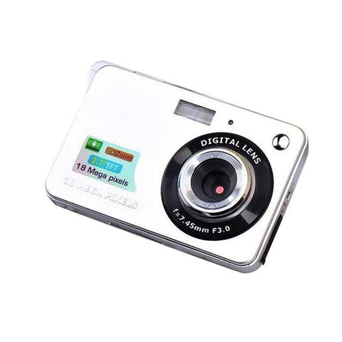 2.7 Inch Ultra-thin 18 MP HD Digital Video Camera Digital Camera GordVE Grey