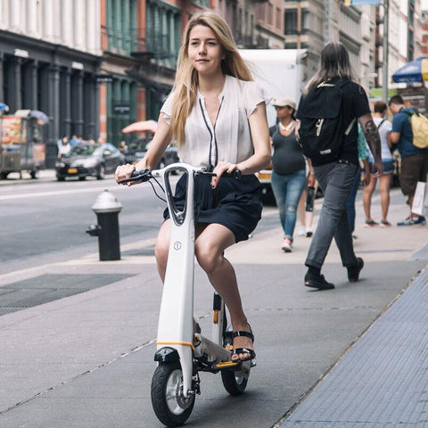 Image of Adults Folding Electric Scooter - esavy