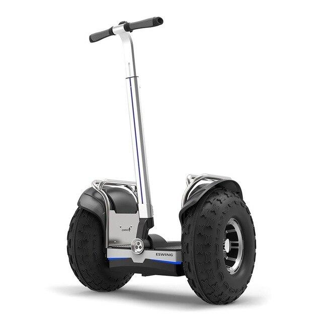 ESWING ES6+ City Electric Two-wheel Scooter Off Road Type 19 Inch Tire Buit-in GPS With Bluetooth APP Electric Scooter ESWING Default Title