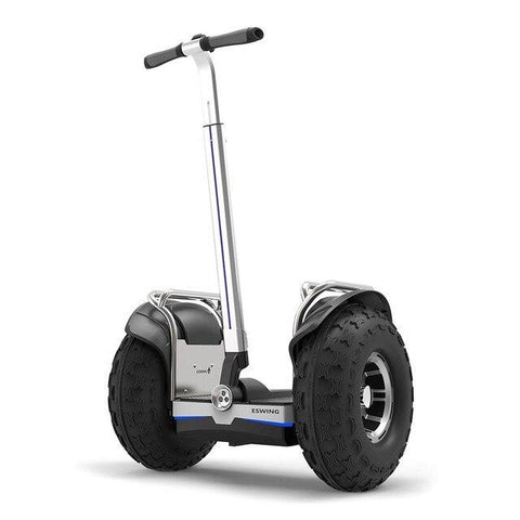 Image of ESWING ES6+ City Electric Two-wheel Scooter Off Road Type 19 Inch Tire Buit-in GPS With Bluetooth APP Electric Scooter ESWING Default Title