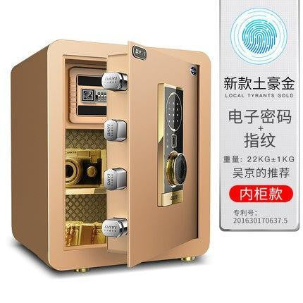 Day1 New Fingerprint Coded Wall Mountable Safe - esavy