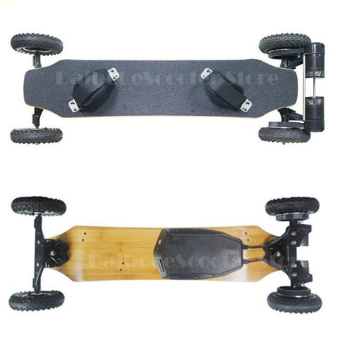 Image of Four Wheel Electric Skateboard - esavy