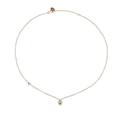 Latelita London Alluring Hamsa Hand Necklace - esavy