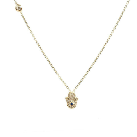 Image of Hamsa Hand Necklace - esavy