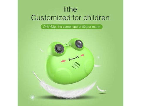 Image of HD 1080P Frog Child Camera Digital Photo Camera Juguetes Photography Birthday Gift Cool Kids Newest Digital Camera Generic