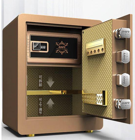 Image of Day1 Sleek Biometric/Digital Firearm Safe - esavy