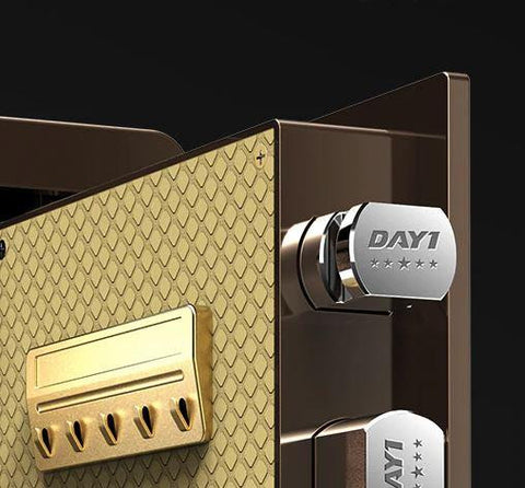Sleek Biometric/Digital Firearm Safe - esavy