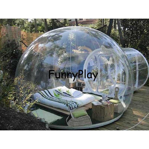 Ternmove 4-Person Inflatable Transparent Bubble Tent - esavy