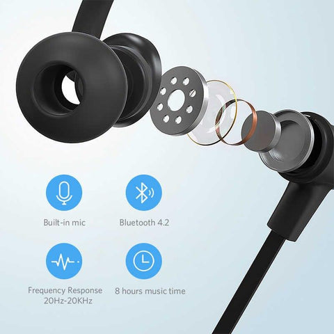 Image of Mifa S1 Wireless Headphones Sports Bluetooth Earphone IPX5 Waterproof Wireless Headset for phones Wireless Headphones mifa