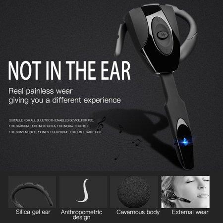 Image of New Stereo Earphone Wireless Bluetooth Game Headset Headphone Earphone Handfree With Mic For Sony for PS3 Smart Phone Tablet Wireless Headphones ONLENY