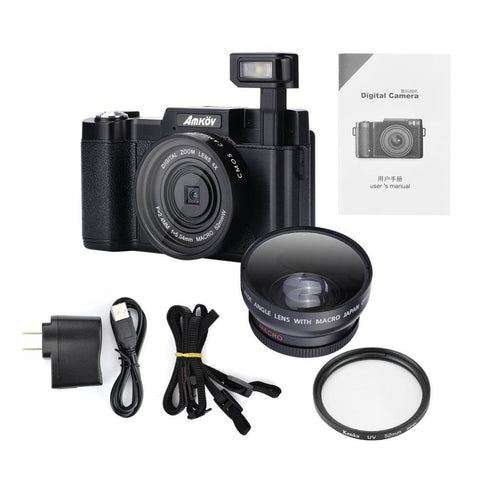 Original CDR2 24Mega pixel 1080P HD Mini Digital Camera Digital Camera Amkov
